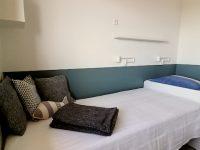 Zwei Einzelbetten Ferienwohnung Traumweiß