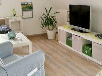 Wohnzimmer Ferienwohnung Dünenrose